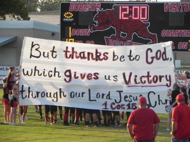 High School Football Banner