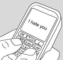Cyberbully Text Message