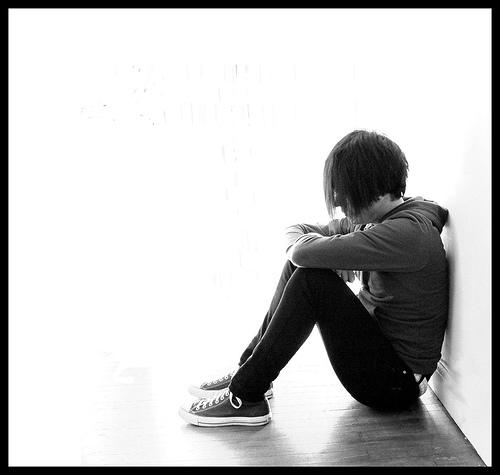 teen sitting