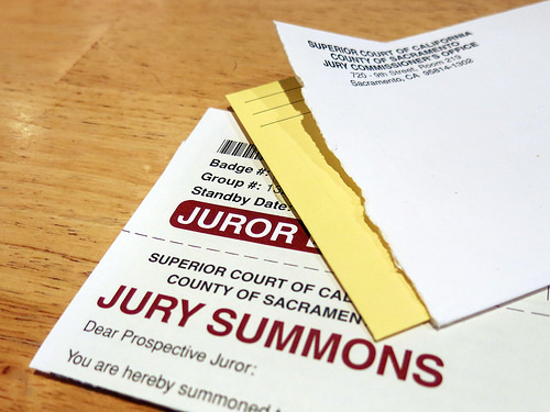 juror summons
