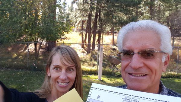 ballot selfie