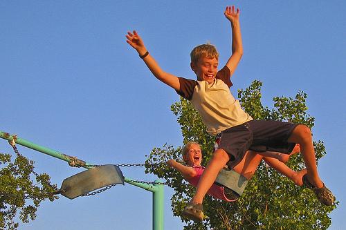 swing jumping