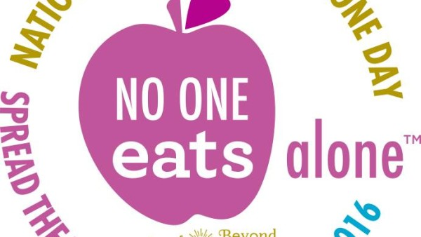 No one eats alone day